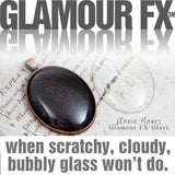 GFX-Glamour FX Glass - 30x40mm Oval Glass Cabochons