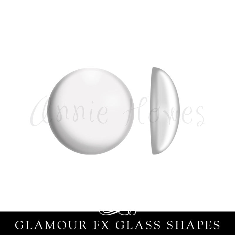GFX-Glamour FX Glass 17mm Dome Circles