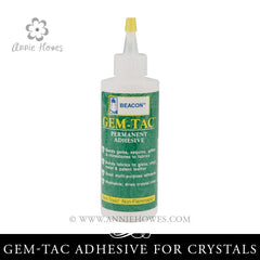 Gem-Tac Adhesive for Fabric. Beacon.