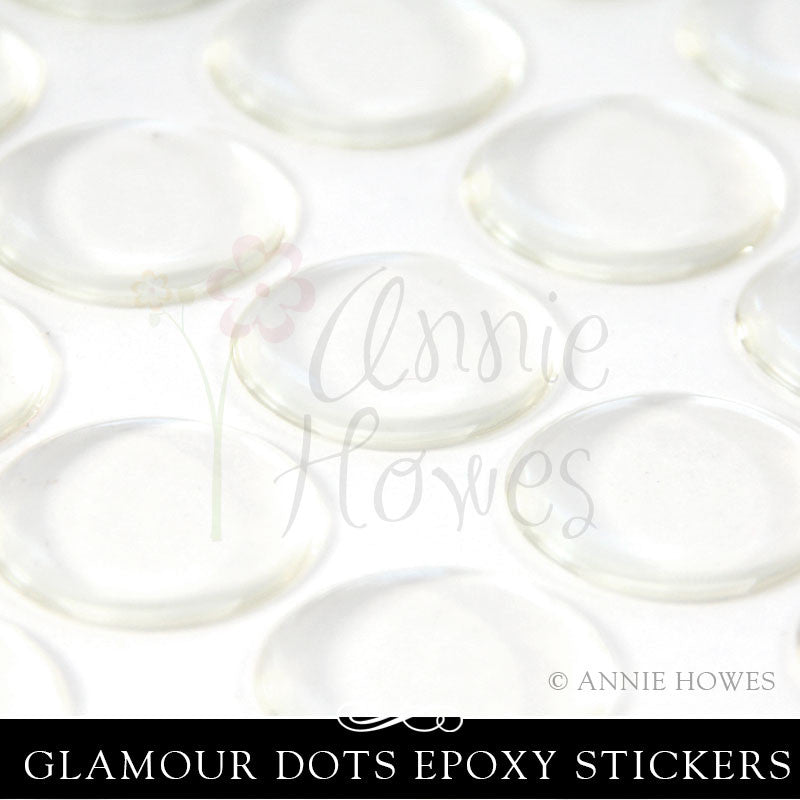 Glamour Dots Epoxy Stickers