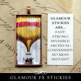 Glamour Stickies Dry Adhesive - 4x6 Sheets