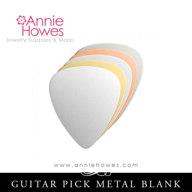 Impressart Guitar Pick Metal Stamping Blanks - Color Options