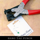 Hole Punch for Jewelry Cards.