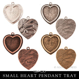 Pendant Tray - Traditional Small Heart - TPH Nunn Design