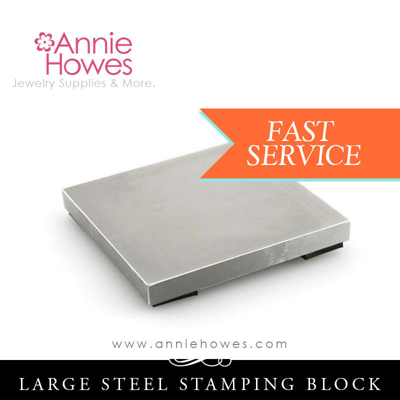 Large Steel Block for Metal Stamping - Impressart