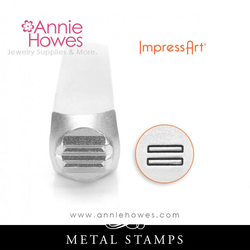 Impressart Metal Stamps - Equality Design Stamp
