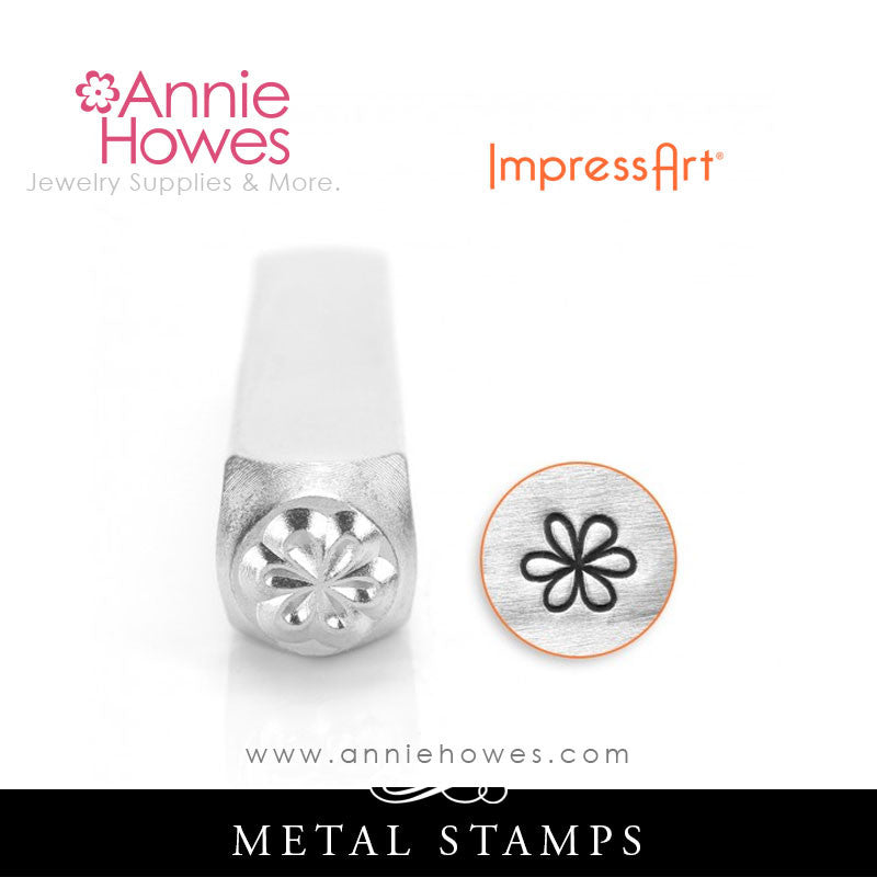 Impressart Metal Stamps - Large Flower Stamp