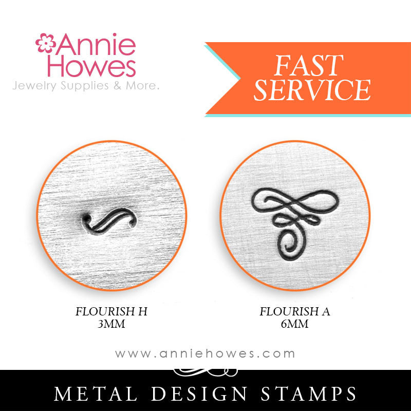 Impressart Metal Stamps - Flourish Design Stamps - Your Choice