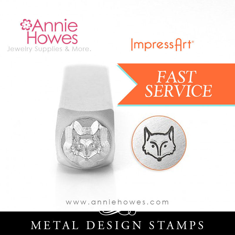 Impressart Metal Stamps - Fox Jewelry Design Stamp