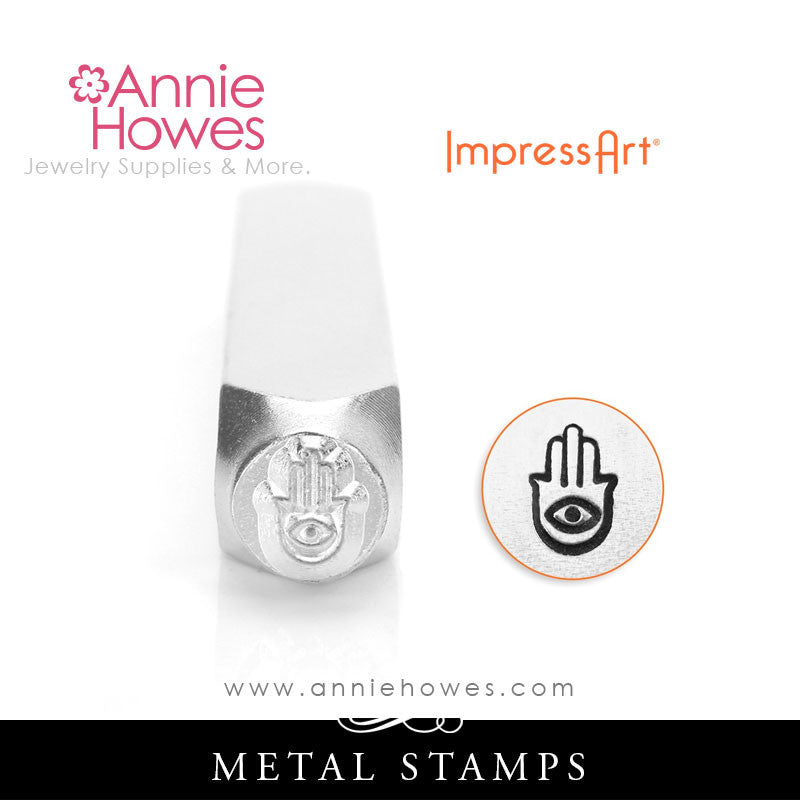 Impressart Metal Stamps - Hand of Miriam