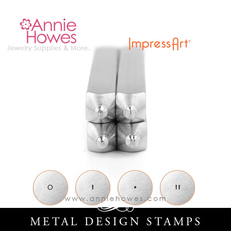 Impressart Metal Stamps - Longitude & Latitude Design Stamp