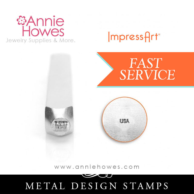Impressart Metal Stamps - USA Marking Stamp Jewelry Design Stamp