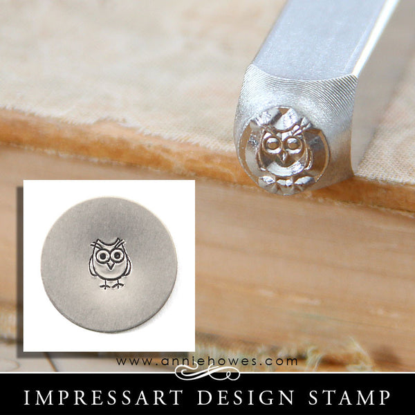 Impressart Metal Stamps Owl Design Stamp Annie Howes