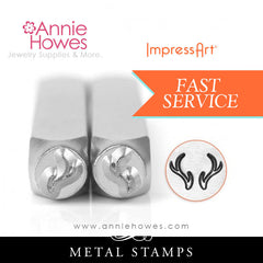 Impressart Metal Stamps - Antlers Jewelry Design Stamp Set