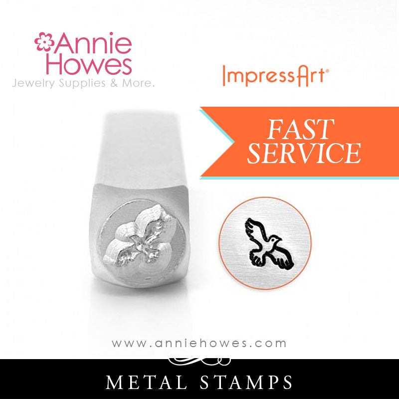 Impressart Metal Stamps - Hawk Jewelry Design Stamp