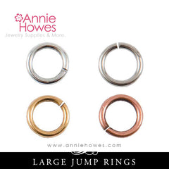 8mm Jump Rings Circle Match Nunn Design