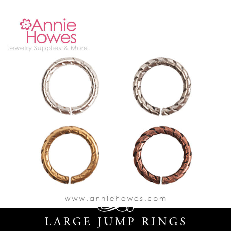 9mm Jump Rings Circle Rope Match Nunn Design
