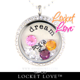 Locket Love Word Disc