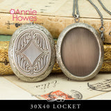 Photo Locket DIY Necklace Cameo Locket
