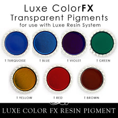 Luxe Transparent Pigment - Color FX 1/2 oz