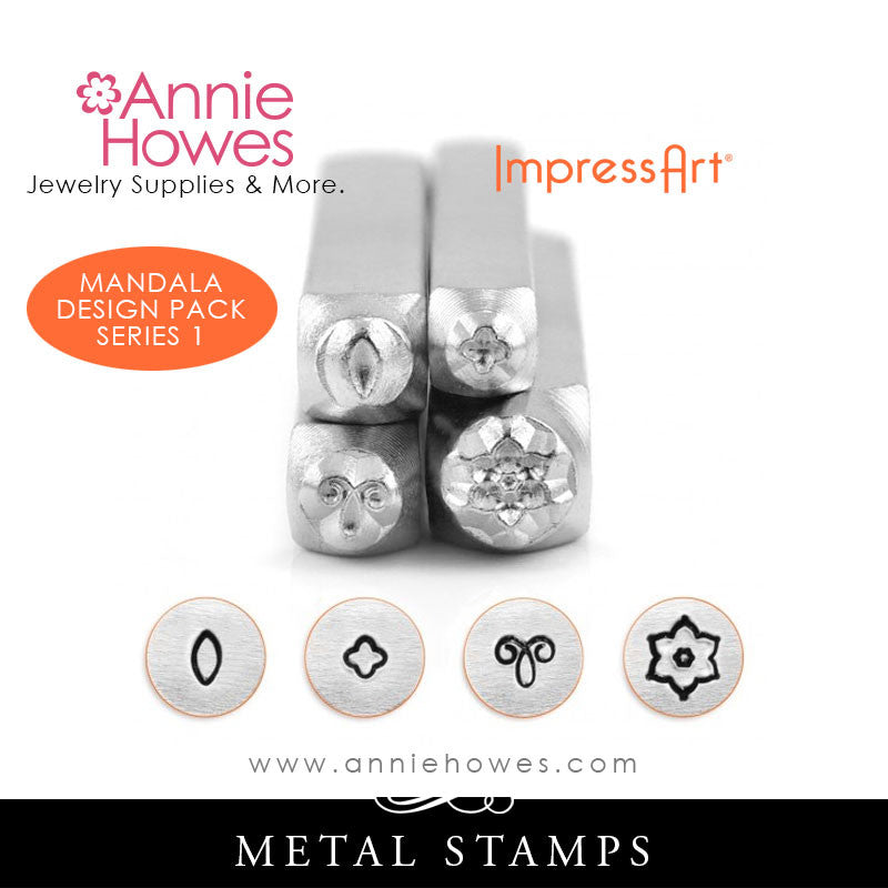 Impressart Metal Stamps - Mandala Stamp Set Series 1