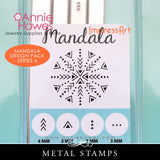 Impressart Metal Stamps - Mandala Stamp Set Series 4