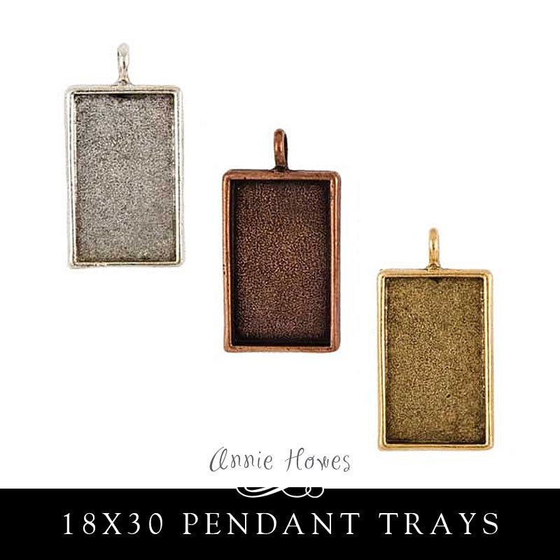 Pendant Tray - 18 x 31 Rectangle - LPR Nunn Design