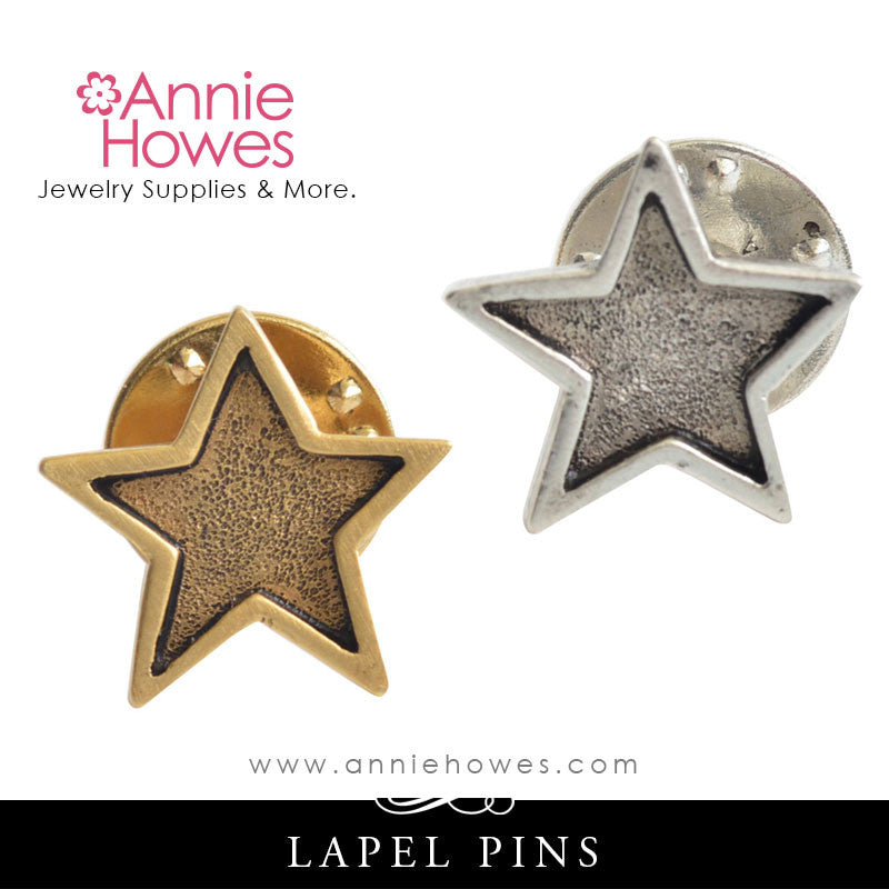 Lapel Pin - Mini Star. Nunn Design.