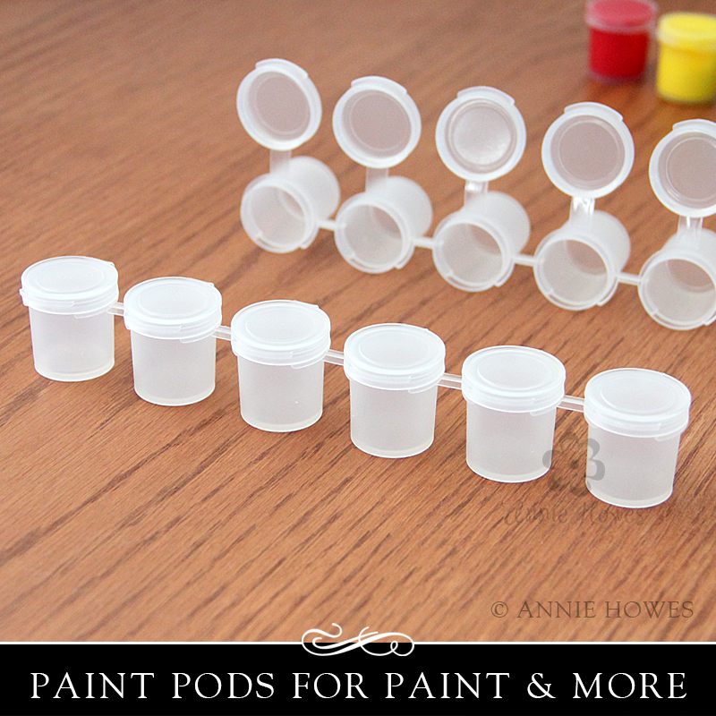 Paint Pot Pods Strip Annie Howes