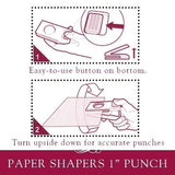 EK Tools Paper Shapers  25mm 1 Inch Circle Punch