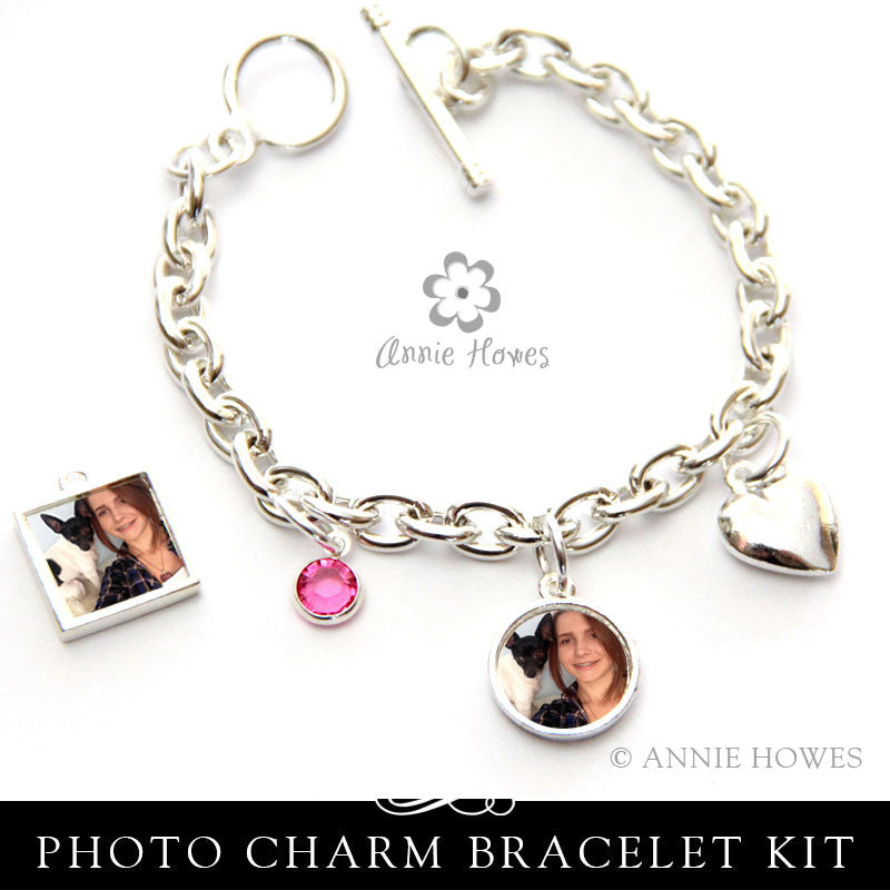 Photo Charm Bracelet Kit - Choose Your Options