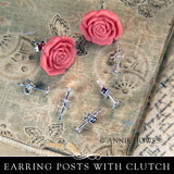 Silver Plated Earring Posts