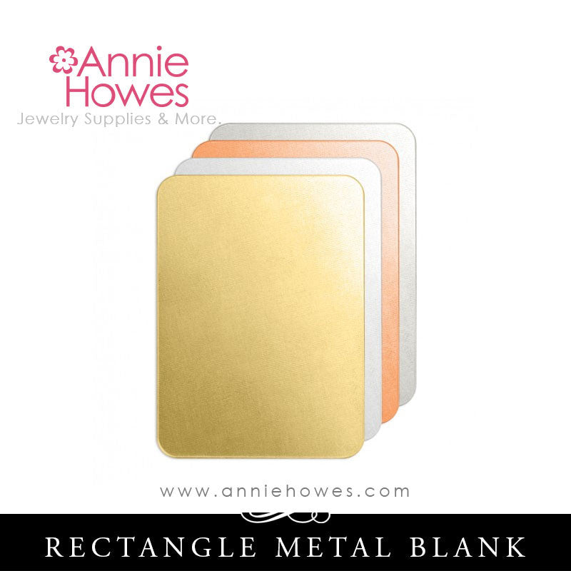 Impressart Large Rectangle Metal Stamping Blank