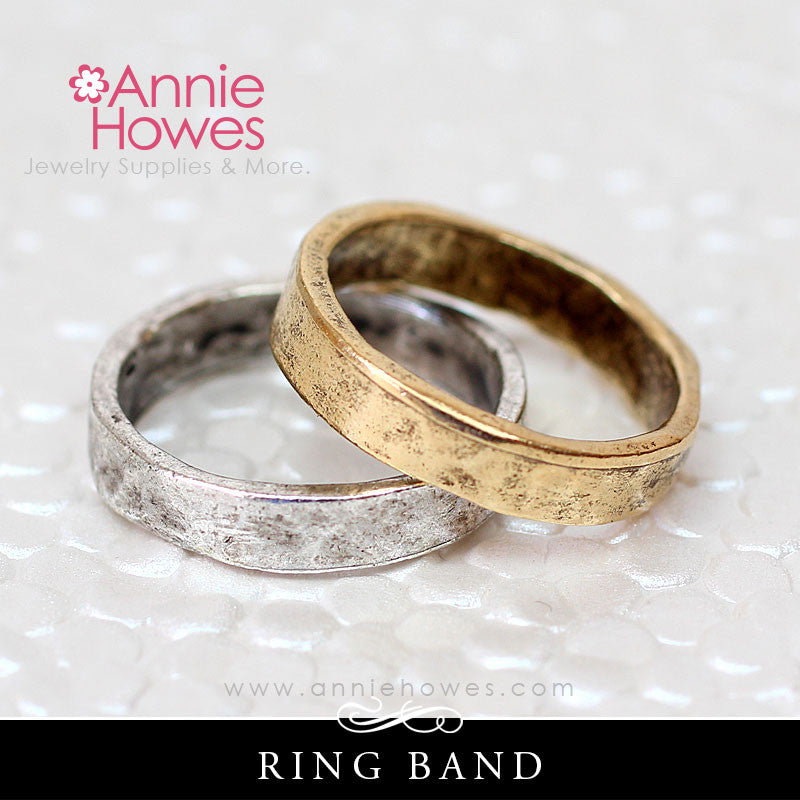 Hammered Ring Band - Nunn Design