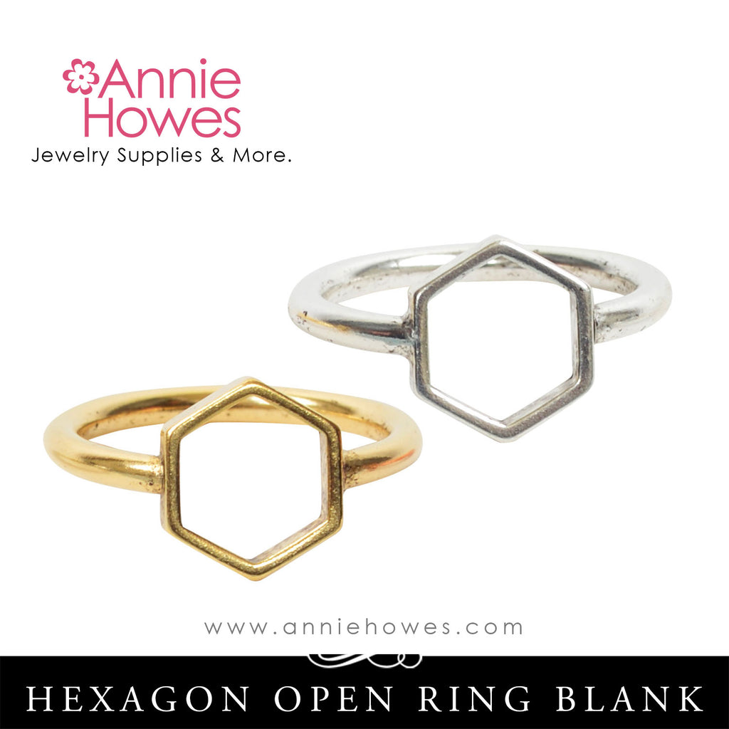 Hexagon Ring - Nunn Design.