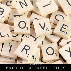Brand New Scrabble tiles 1000 pack