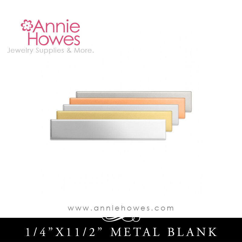 Impressart Strip Metal Stamping Blanks - Color Options