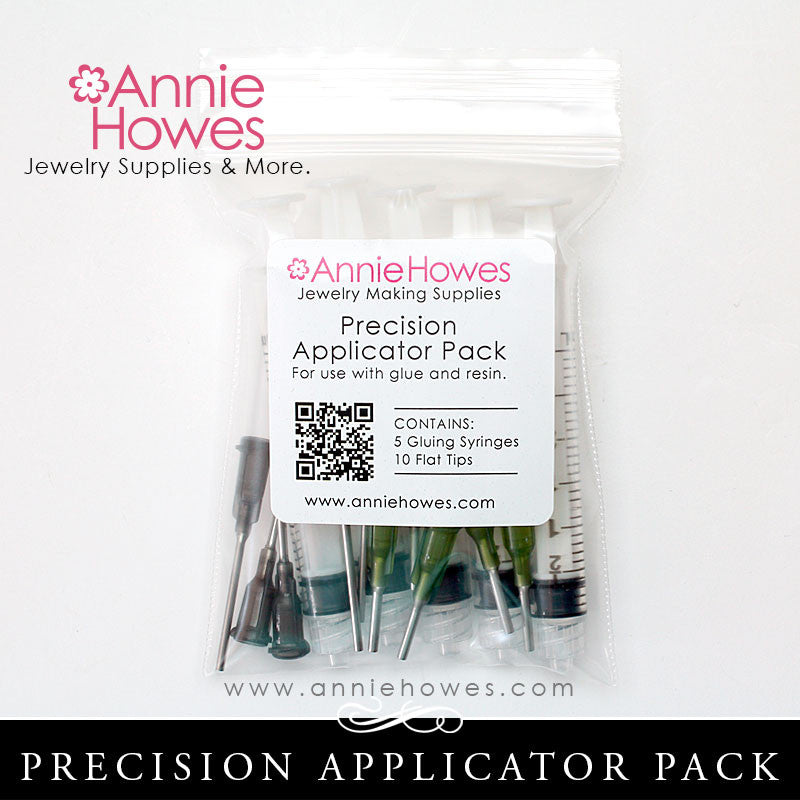 Precision Applicator Pack - Use with Glue, Resin, and More.