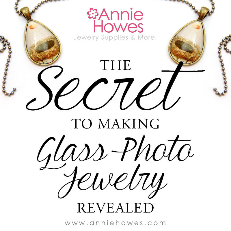 The Secret to Making Glass Photo Jewelry Revealed tutorial guide Instant Download