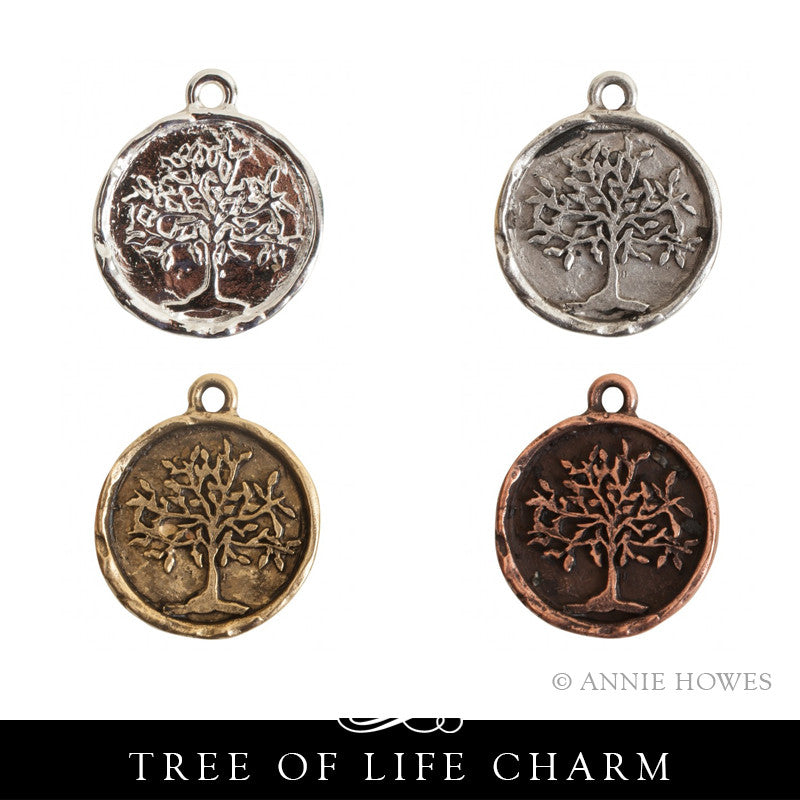 Tree of Life Charm. Nunn Design.