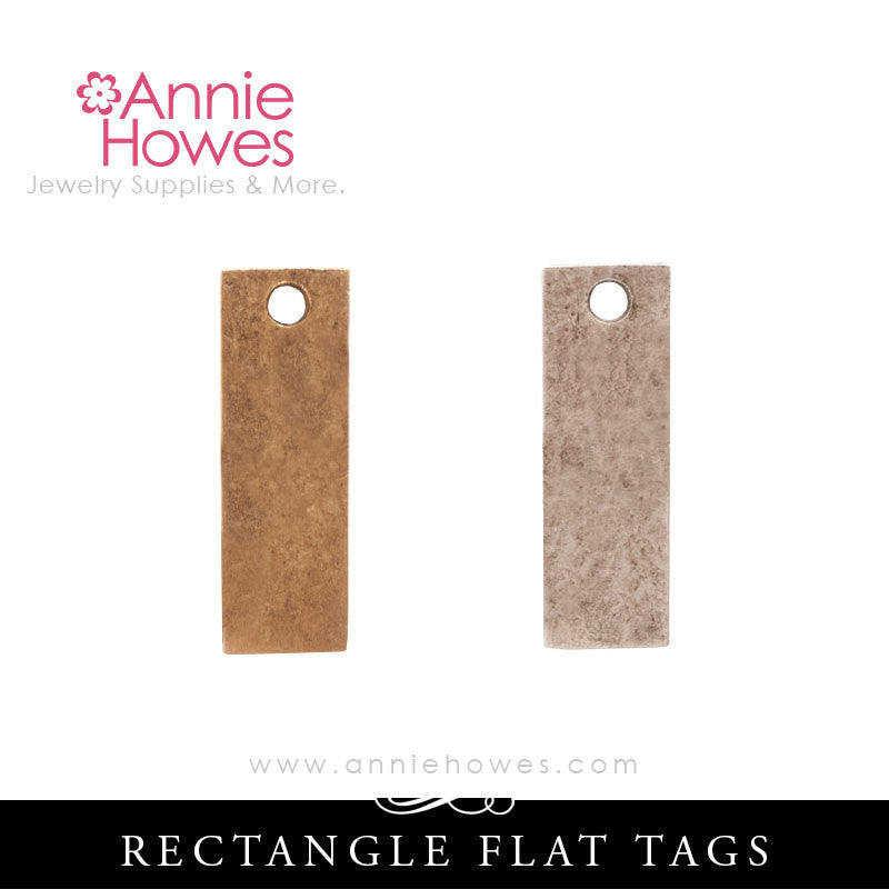Flat Tag For Metal Stamping Rectangle Shape