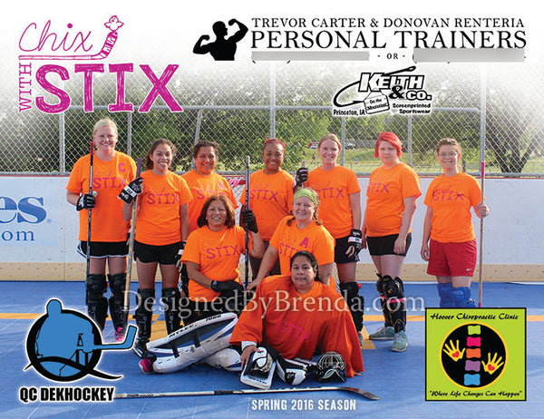 Sports Team Photo Card or Magnet - Sponsor Thank You Gift or Promotional  Item