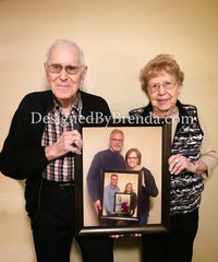 Generations Photo Collage Editing - Family Keepsake Gift - Digital File Only
