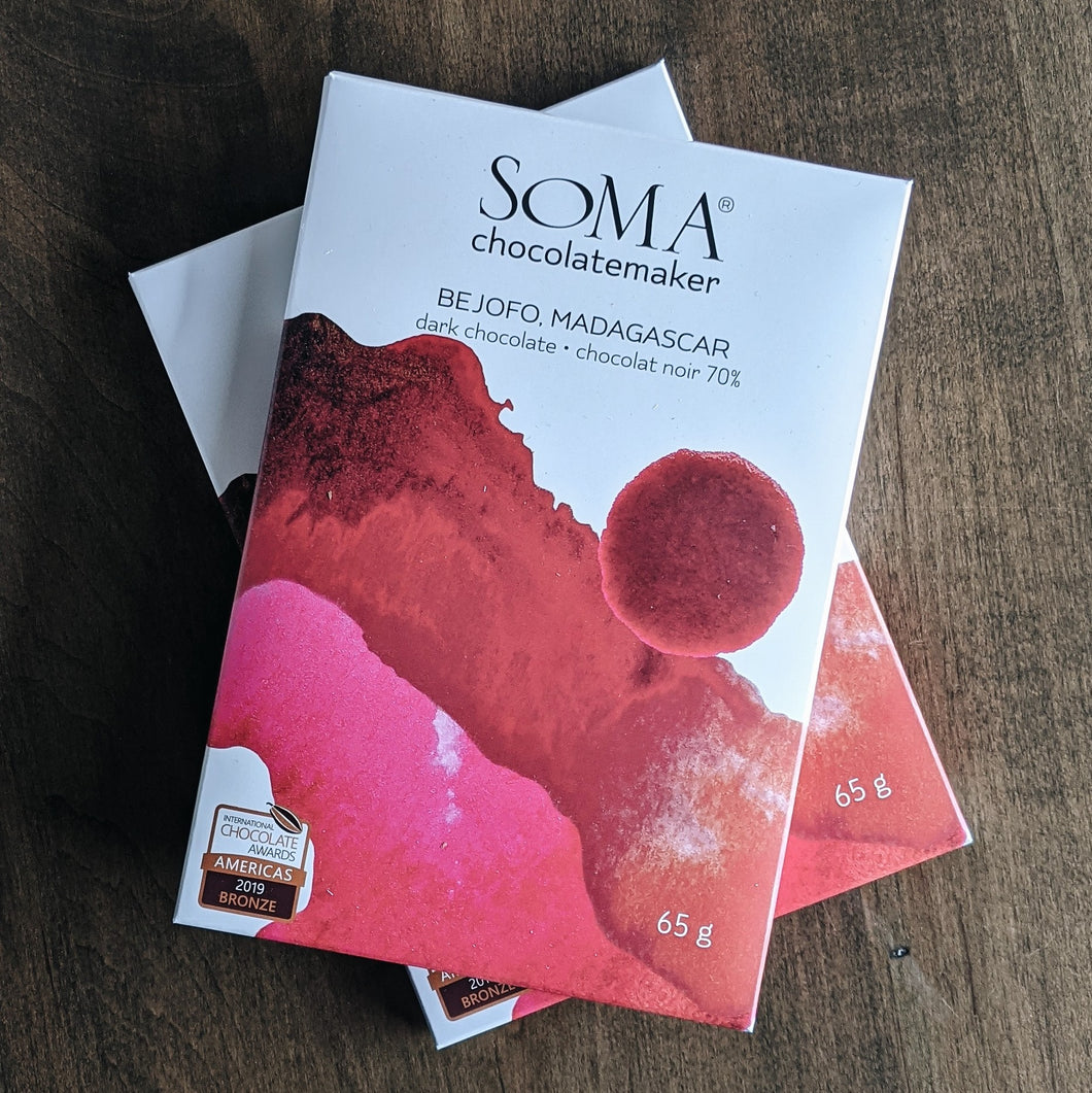 SOMA Chocolatemaker Bejofo Madagascar 70% Bar