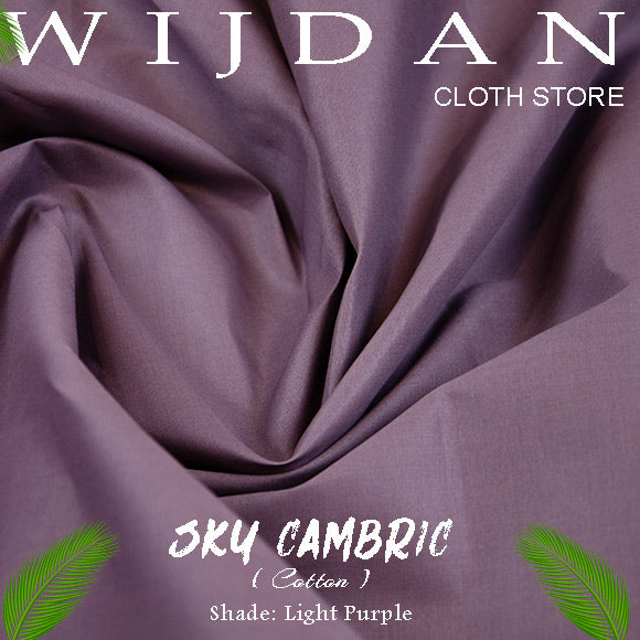 Sky Cambric Cotton