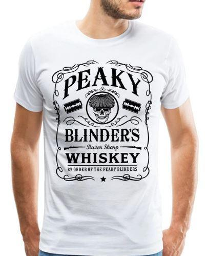 'Peaky Blinders Whiskey' Premium T-Shirt