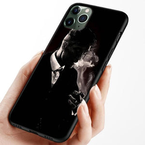 Silicone Peaky Blinders iPhone Case