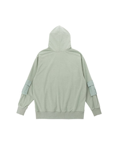 The Blue Palo Verde Pullover Multi Pockets Hoodie Sweatshirt for Women and girls