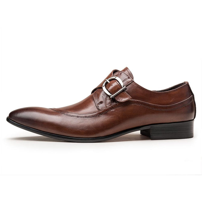 Robb Men's Single Monk Strap