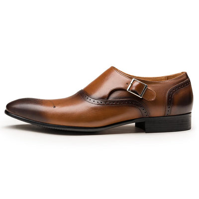 Rockport Men's Brogue Single Monk Strap